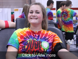 View more photos of the blood drive