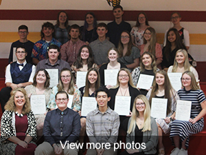 View more photos from the National Honor Society Induction