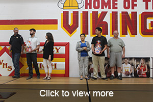 click to view more photos from Senior Night