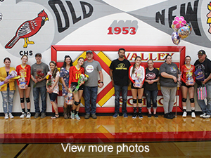 View more photos from our Senior Volleyball Night