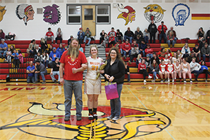 Emily Bryan and parents