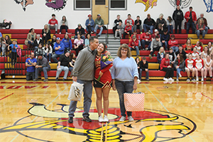 Molly Comfort and parents