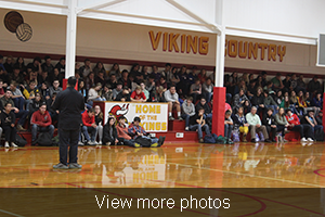 View more photos of Jude Hassan speaking to Valley R-VI students