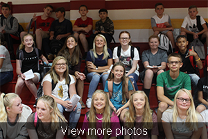 View more photos of the Welcome Back assembly