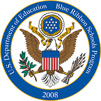Blue Ribbon Award 2008 logo