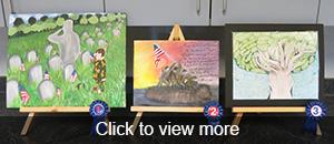 Veterans Day Art Contest Artwork