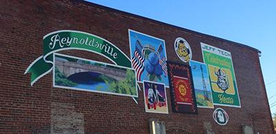Reynoldsville Mural