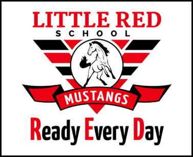 Little Red School Mustangs Ready Every Day