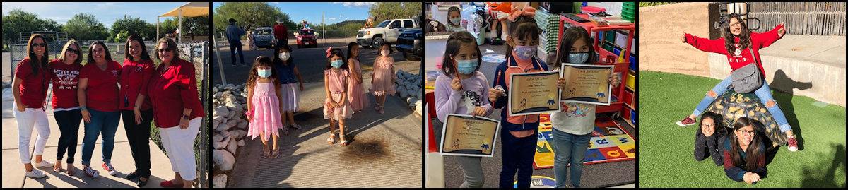 Staff and students of Santa Cruz Elementary District participating in school events