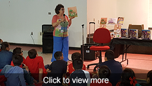 View photos of visiting author