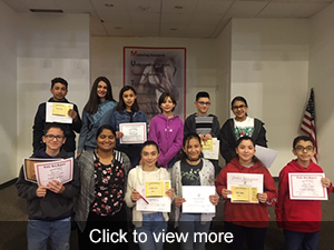 Photos of honor roll students