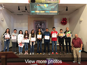 view more photos of Honor Roll and Mighty Mustang Assembly