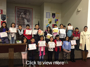 view more photos of our 2nd quarter honor roll assembly