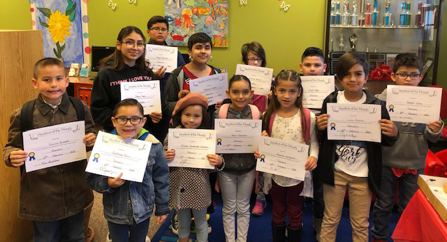 Students of the Month of February