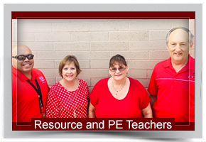 Resource and PE Teachers