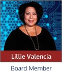 Learn more about Lillie Valencia, Board Member, on our Governing Board page