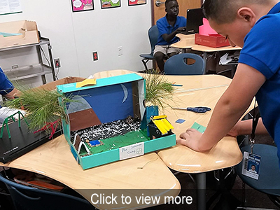 View more photos of the 5th Grade STEM Projects
