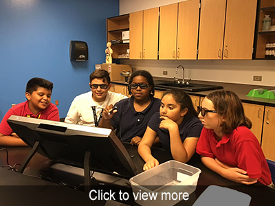 View the photo gallery for STEM Lab Z Space
