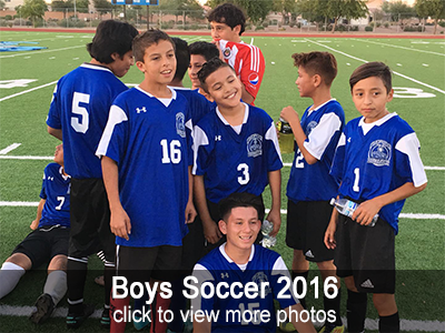 View more photos of the 2016 Boys Soccer team