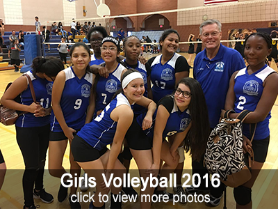 View more photos of the 2016 Girls Volleyball team