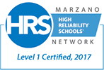Marzano Network | High Reliability Schools | Level 1 Certified, 2017