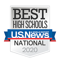 Best High Schools. US News & World Report. National 2020.