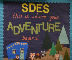 SDES this is where your adventure begins!