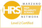 Marzano Network | High Reliability Schools | Level 2 Certified, 2017
