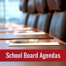 School Board Agendas