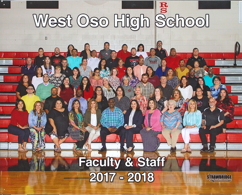 West Oso High School Faculty and staff 2017-2018