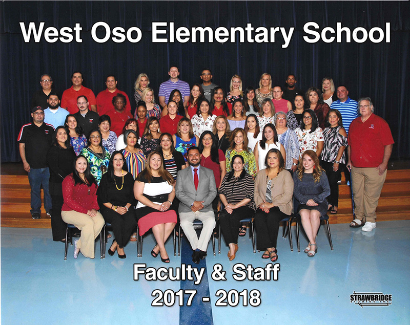 West Oso Elementary School - Faculty and Staff - 2017-2018