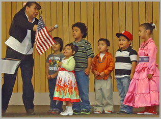 Students of Eaglet Preschool