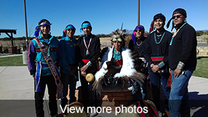 View more photos of Native American Heritage month