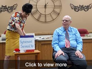 View more photos of Gaylan Jones' honored retirement