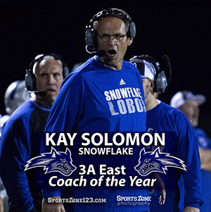 Kay Solomon - Snowflake - 3A East Coach of the Year