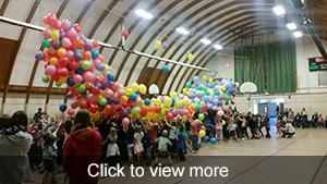 photos of balloon drop