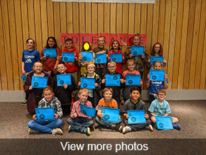 View more photos of February PAWS Assembly
