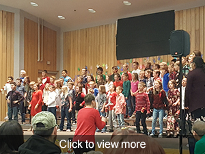 photos from our Christmas Spectacular