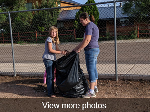 View more photos of the community clean up