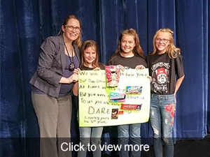Click to view more photos from our D.A.R.E. graduation