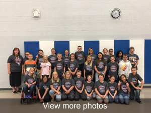 View more photos of the D.A.R.E. graduation