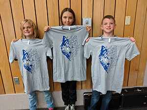 September Paws drawing t-shirt winners