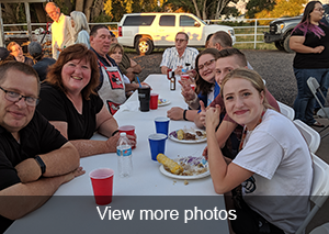 view more photos of the annual staff dinner