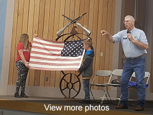 view more photos from our Veterans Day program