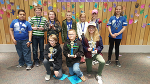 January Spelling Bee Winners