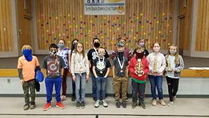 Spelling Bee winners and alternates 2021