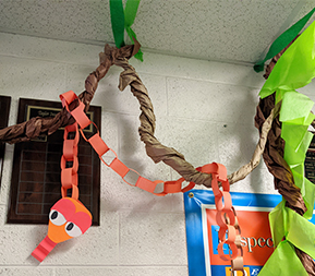 Welcome to the Jungle paper snake