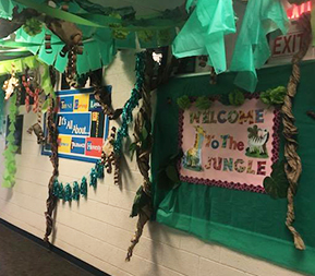 Welcome to the Jungle bulletin board