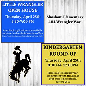 Little Wrangler Open House flyer
