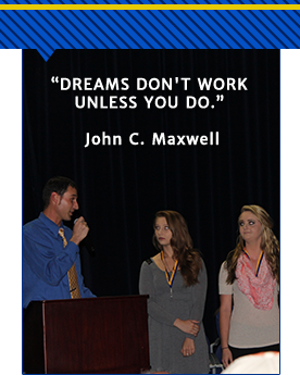 Dreams don't work unless you do. - John C. Maxwell